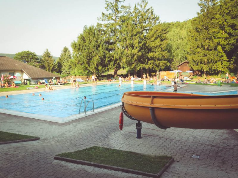 Sportbecken Waldbad Piesting