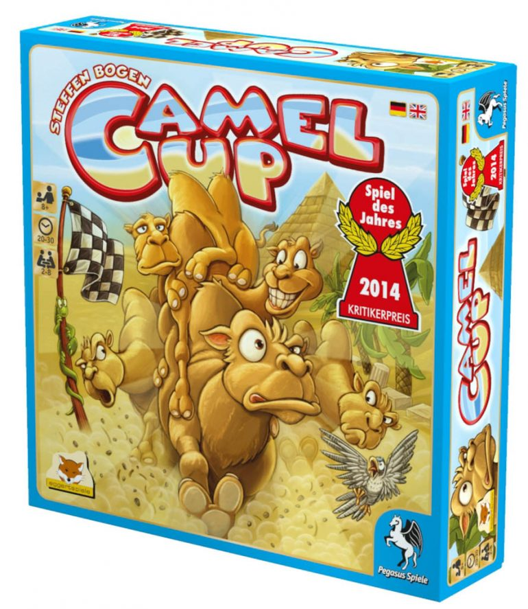 Camel Up, Schachtel