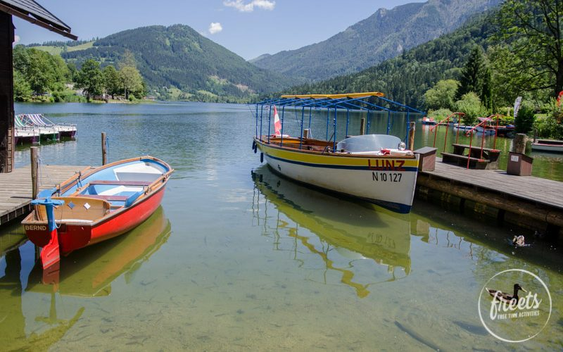 Lunzer See, Boote