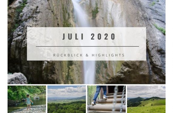 Collage Juli 2020 Rückblick